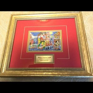 🔷JUST IN! Mickey's Christmas Parade Framed Print